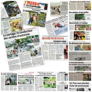 Quelques articles parus dans la presse régionale