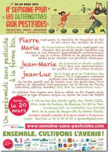 semaine des alternatives aux pesticides programme