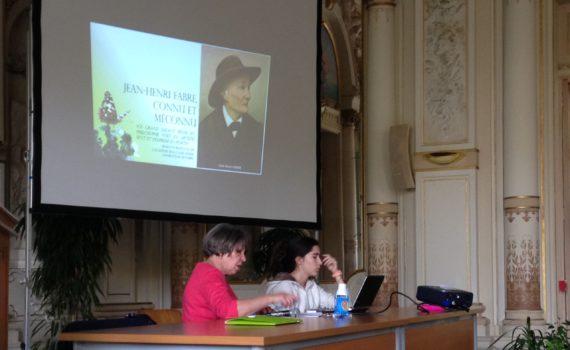 Diapo/conférence de Michelle Craponne sur JH Fabre (Mairie d' Avignon, mais 2016)