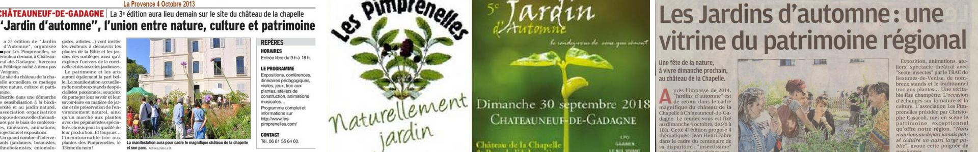 Jardin Dautomne Les Pimprenelles